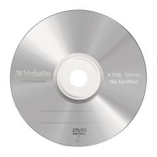 Диск DVD-R Verbatim 4.7Gb 16x Jewel Case (5шт) 43519